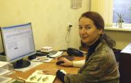 Научный сотрудник Наталья Александровна Бенецкая